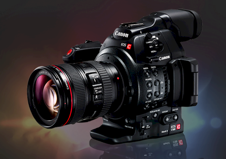 Rent Canon C100 mk ii from Guivret