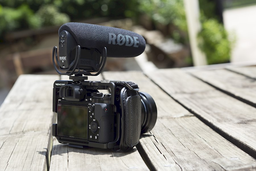 Rent a Rode VideoMic Pro Rycote camera shotgun microfoon in Den Haag from Adi