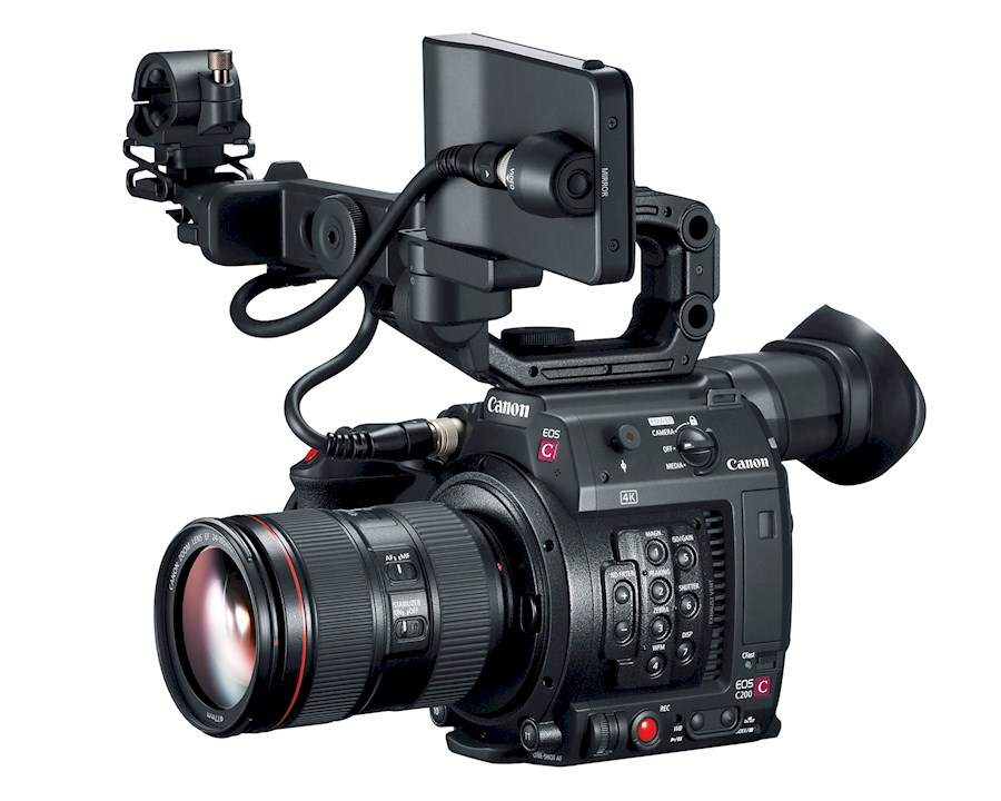 Rent a CANON EOS C200 EF-MOUNT CINEMA CAMERA in Utrecht from Ivo