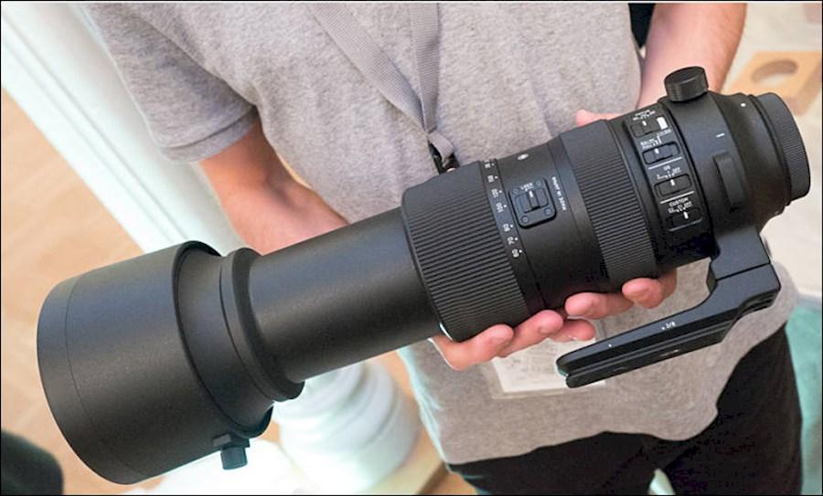 Huur Sigma 60-600mm F/4.5-6... van Michael