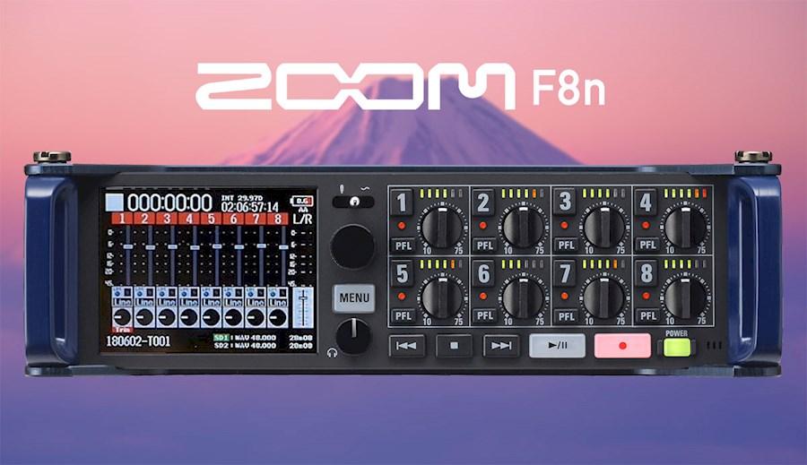 Rent Zoom F8n from Mathias