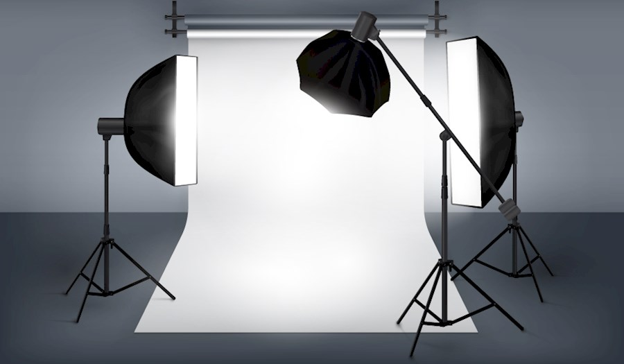 Louez 3 delige softbox set de Timo