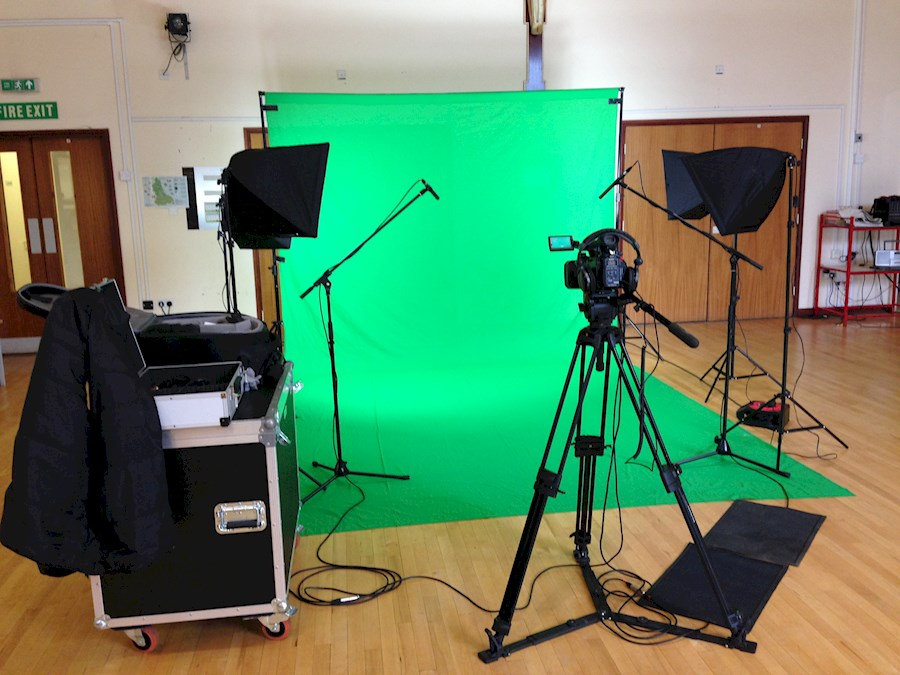Rent a Green screen studio incl verlichting en boom mic in Poortugaal from Timo
