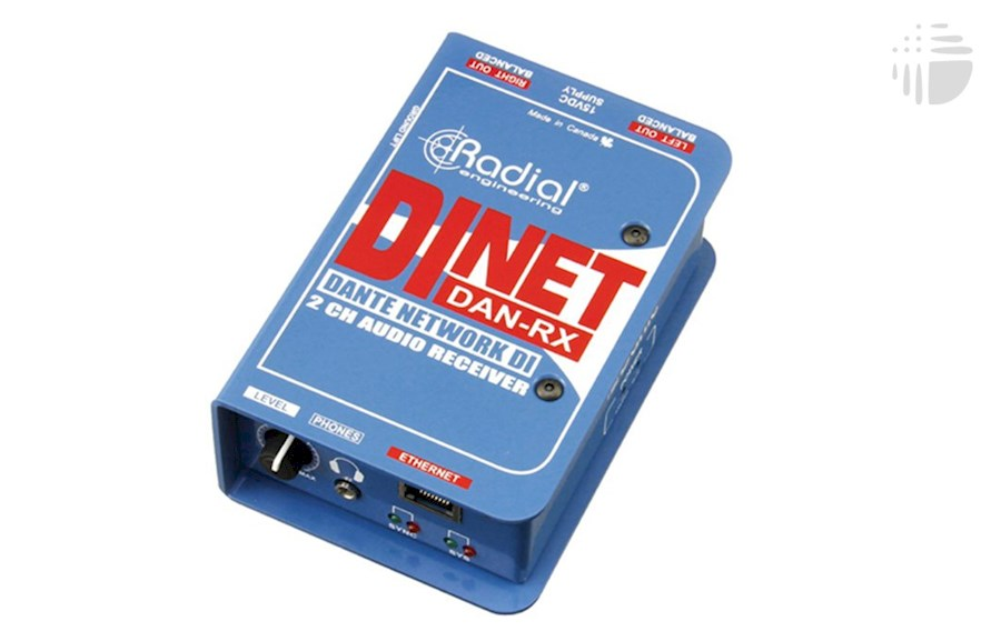 Rent a Radial DiNET DAN-RX (DANTE receiver) in Antwerpen from VOF Of My Life