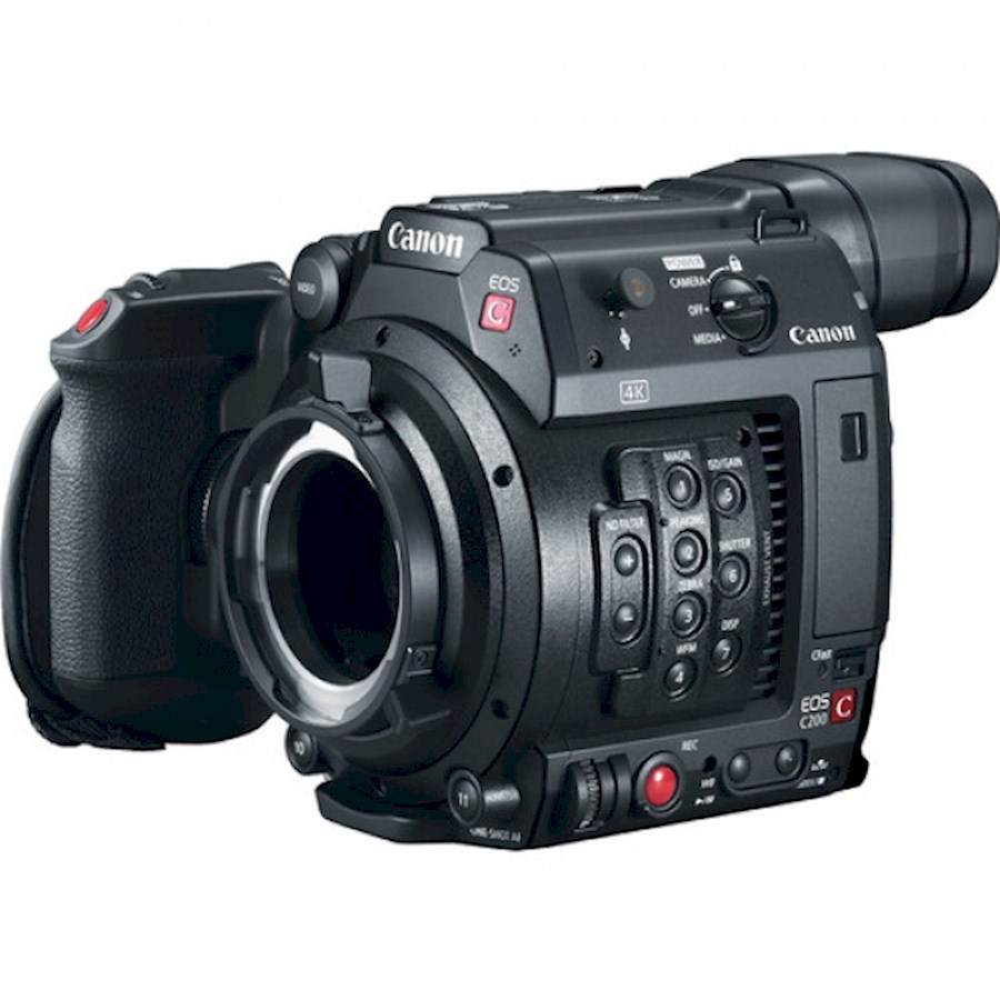 Rent a CANON C200 in Kortrijk from BV OSTRON