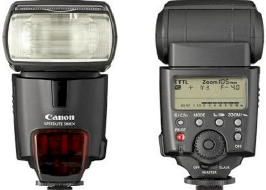 Rent CANON SPEEDLITE 580 EX II from V.O.F. CAMERA SERVICE LIMBURG