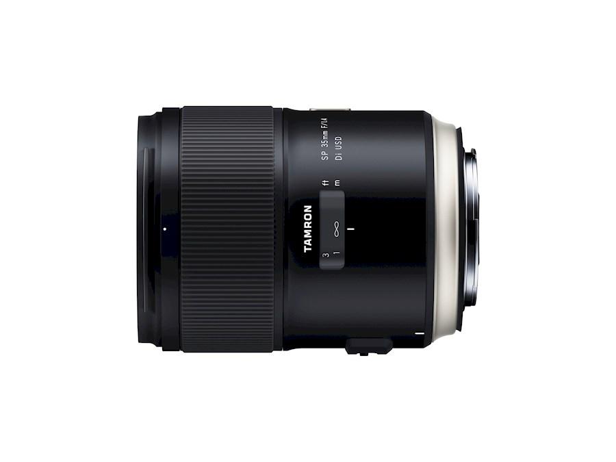 Huur een Tamron SP 35 mm F/1.4 Di USD | Canon EF in Nieuw-Vennep van TRANSCONTINENTA B.V.