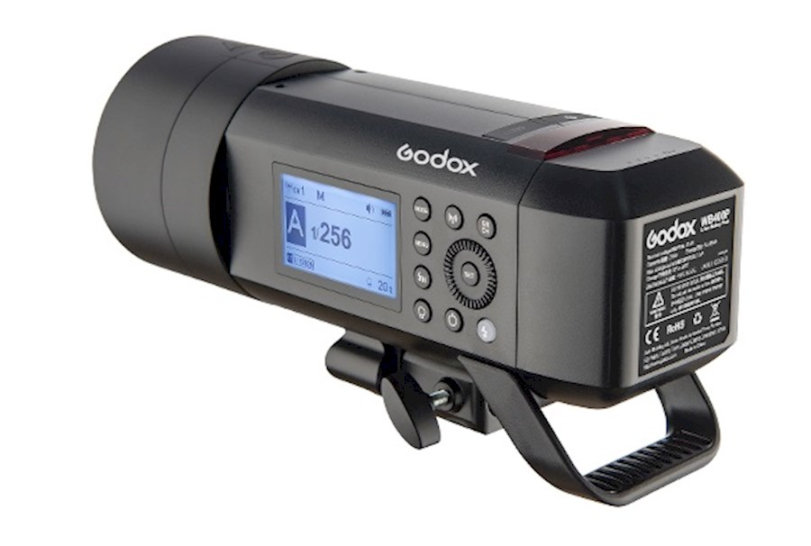 Huur een Godox AD400 Pro flash with X Pro remote (for Nikon) in Den Haag van Aron
