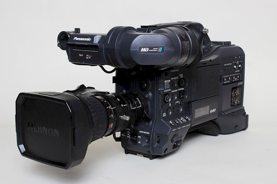 Rent a Panasonic AJ-PX5000G P2 ENG-camera in Grimbergen from Eric
