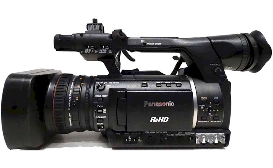 Rent a Panasonic AG-HPX250EJ P2 ENG-camera in Grimbergen from Eric