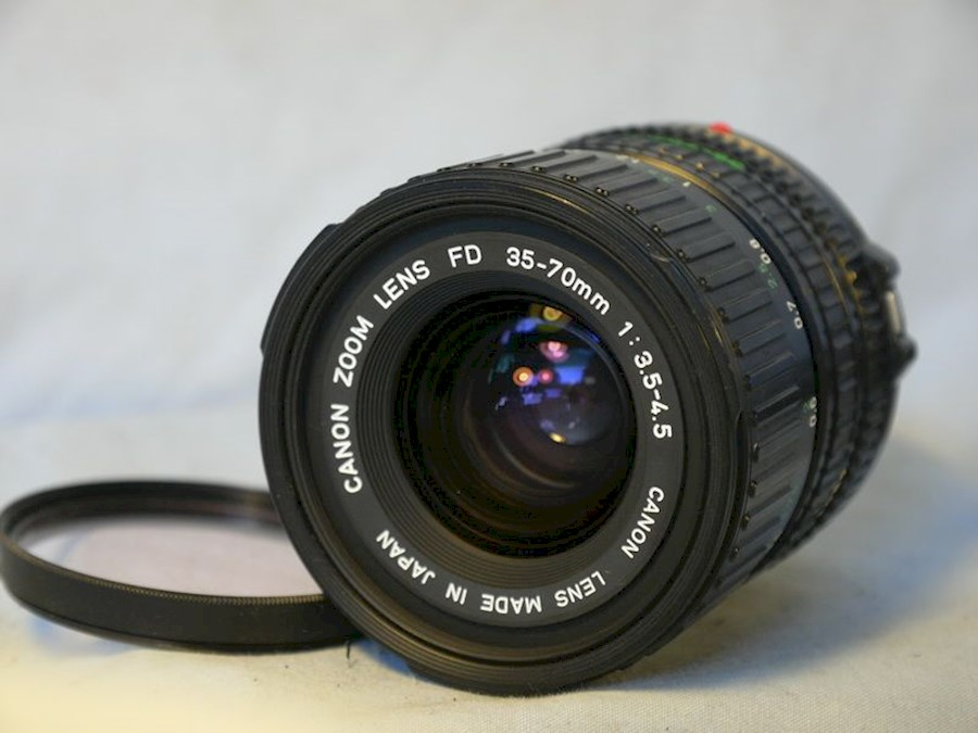 Rent Canon zoom lens FD 35-... from Afra