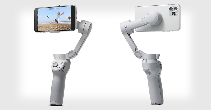 Rent DJI OM4 smartphone gimbal from Thomas