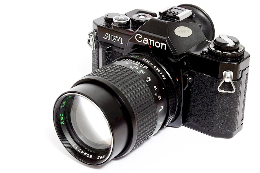 Rent a Canon AE-1 program (analoge camera) in Antwerpen from Afra