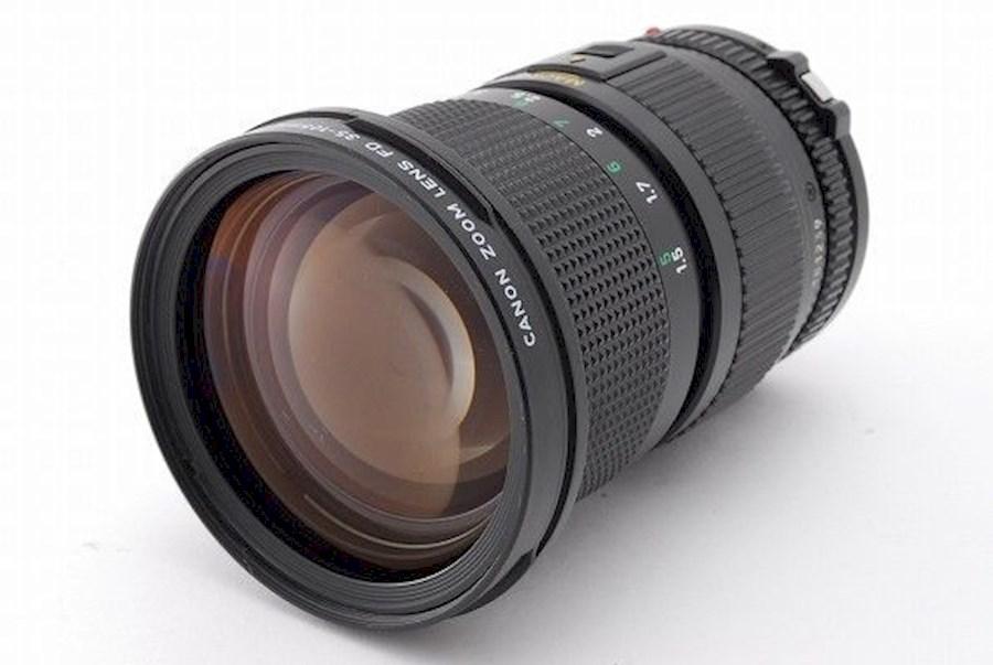 Rent a Canon fd 35-105 mm 1:3.5 (macro lens) in Antwerpen from Afra