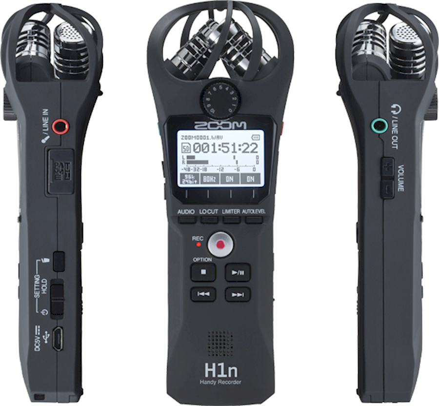 Rent Zoom H1n Handy Recorder from Mart Jan