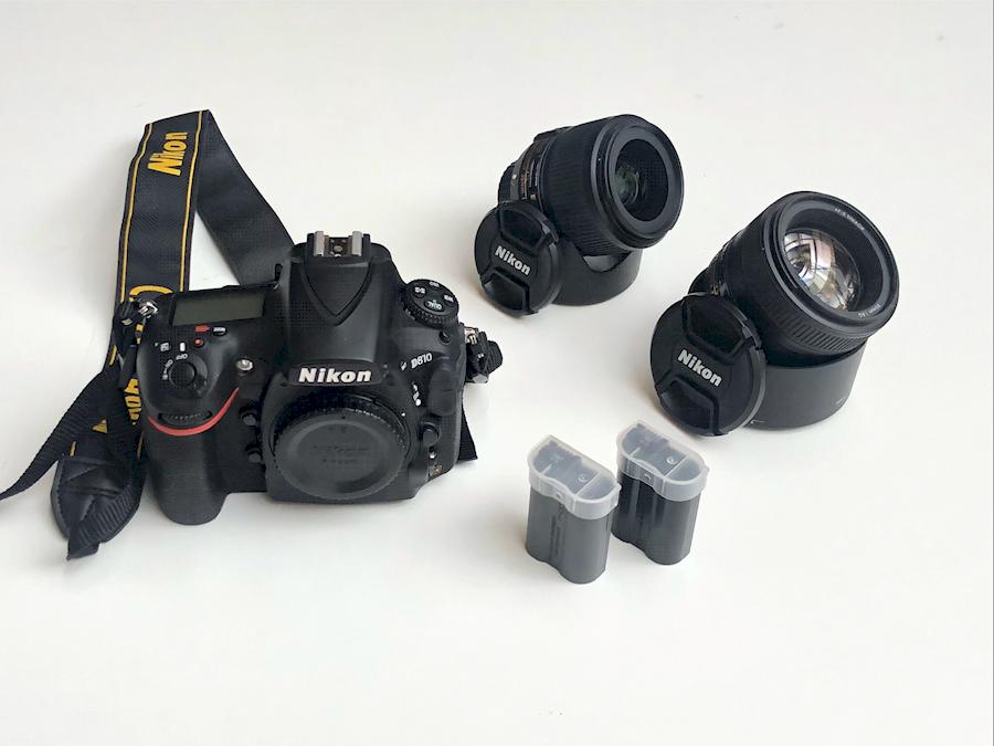 Louer un(e) SET - Nikon D810 + Nikon AF-S 85mm f/1.8G lens + Nikon AF-S 35mm f/1.8 lens Included  two Nikon EN-EL15 Battery à Amsterdam de Ramazan