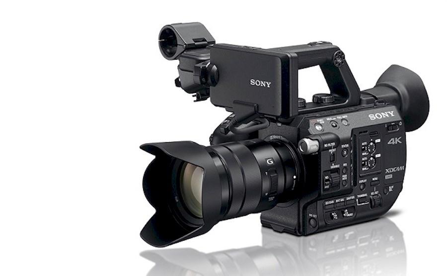 Huur Sony FS5 camera set van Kees