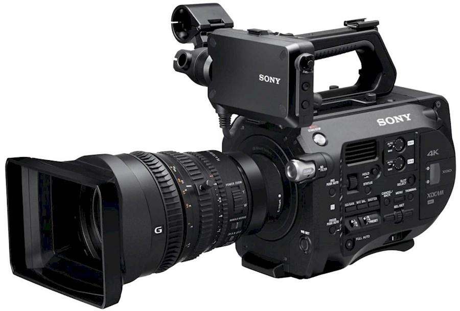 Rent a Camera Set Fs7, statief en lens in Amsterdam from Thomas