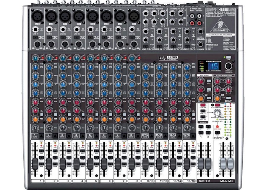 Rent Behringer Xenyx X2222USB from Timo