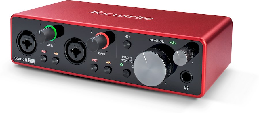 Rent Focusrite Scarlett 2i2 from Isabeau