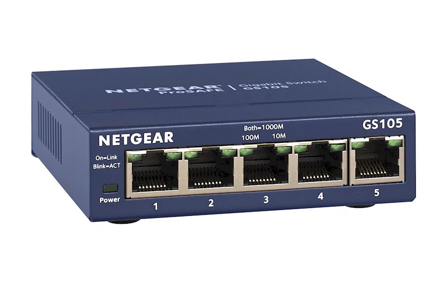Rent Netgear GS-105 netwerk... from VAN DER LELY FREELANCE DIENSTEN