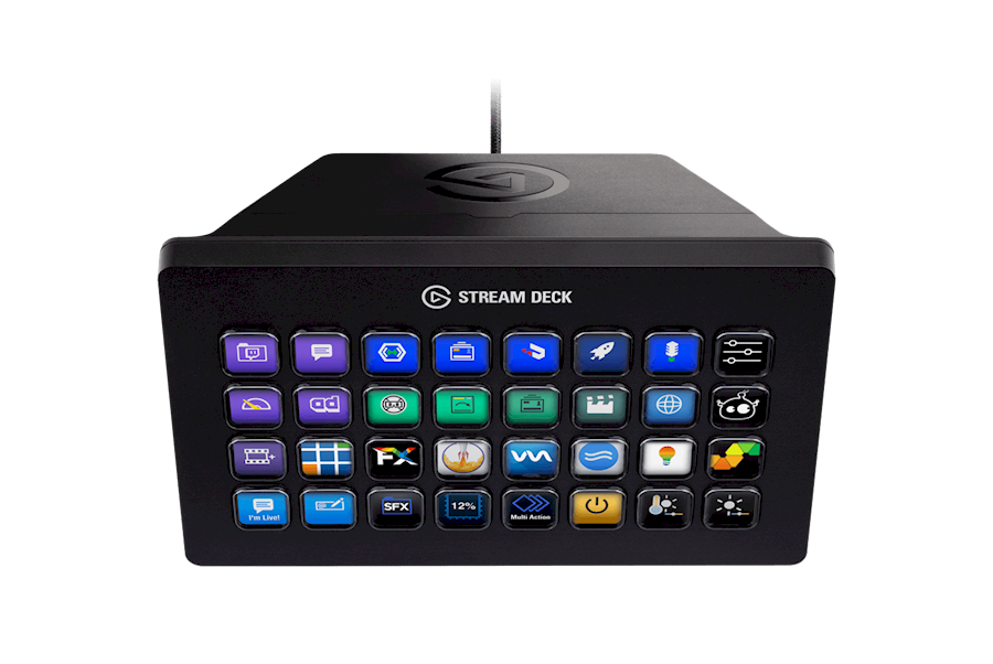 Rent a Streamdeck XL in Woudsend from FILMKE.NL