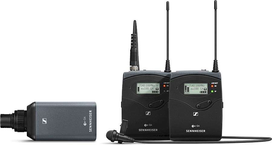 Rent a Sennheiser EW110 G4 Wireless Lav & XLR Kit in Heerlen from CORNFLIKS