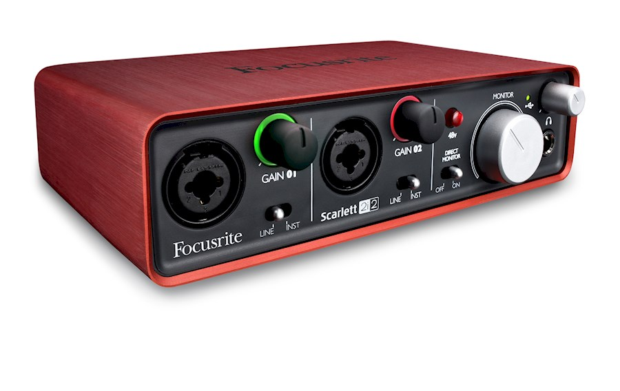 Rent Focusrite Scarlett 2i2 from Afra
