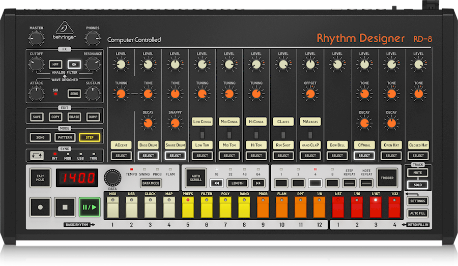 Rent Behringer RD-8 from VOF Of My Life