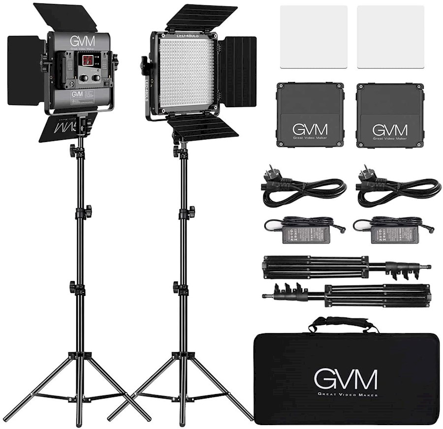 Rent GVM Led-videoverlichti... from VAN DOORN AV PRODUCTIES