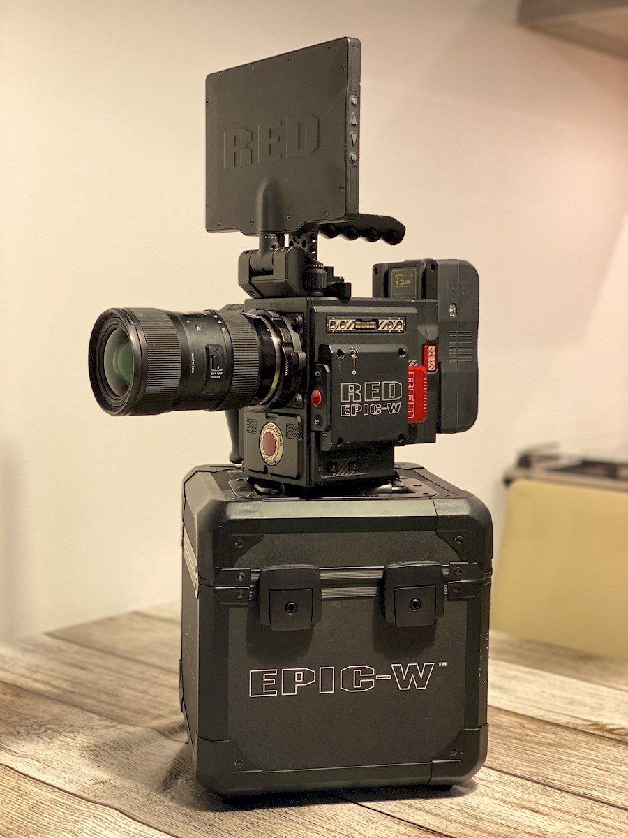 Rent RED Epic W 8K - Helium... from Jelle