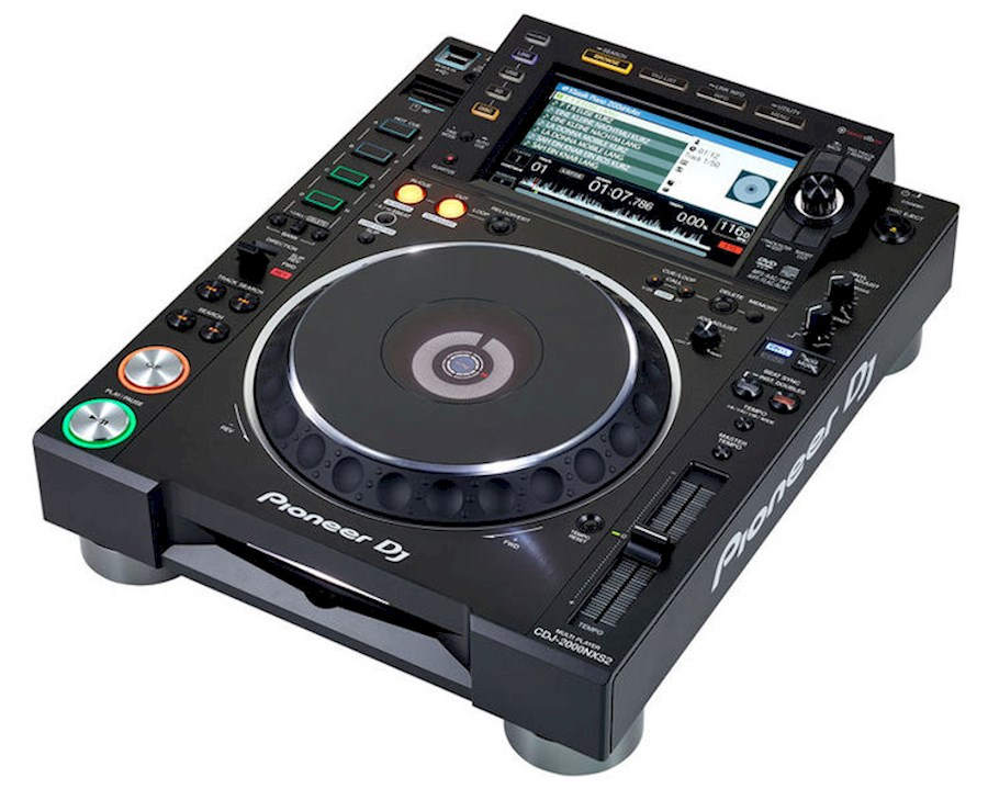 Rent Pioneer CDJ 2000 NXS2 from VOF Of My Life