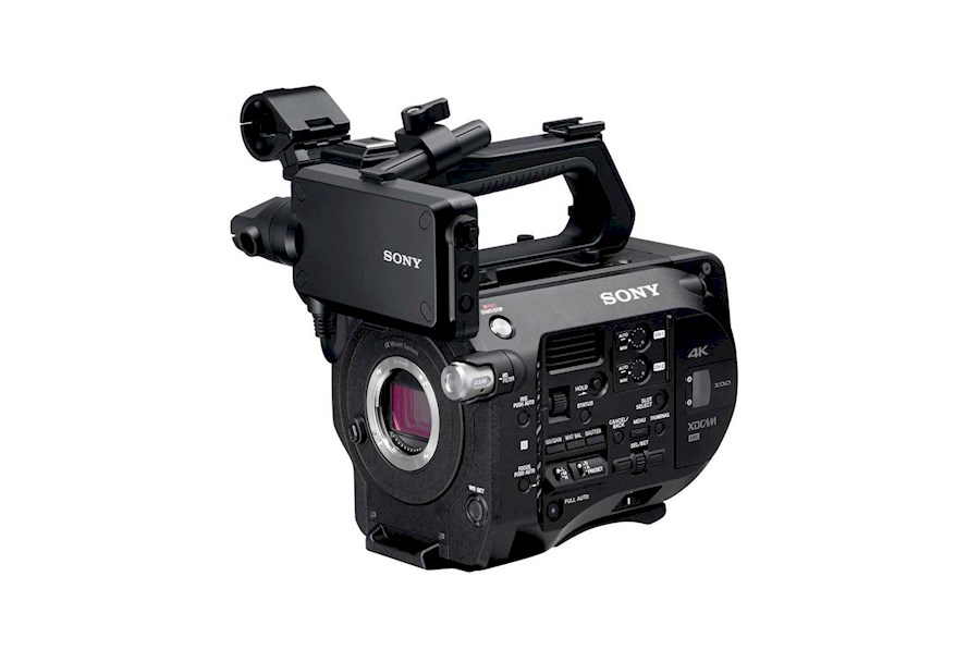 Rent a Sony FS7 in Ieper from Comm.V VDM Graphics