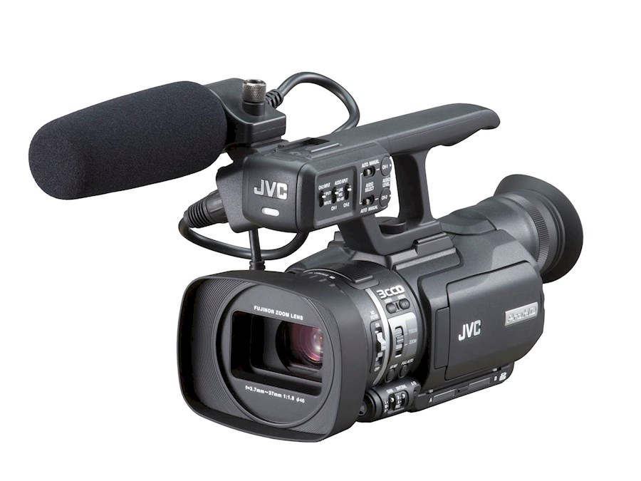 Rent a JVC GY-HM100E Full HD Camera in Goirle from V.O.F. JK PRODUCTIONS