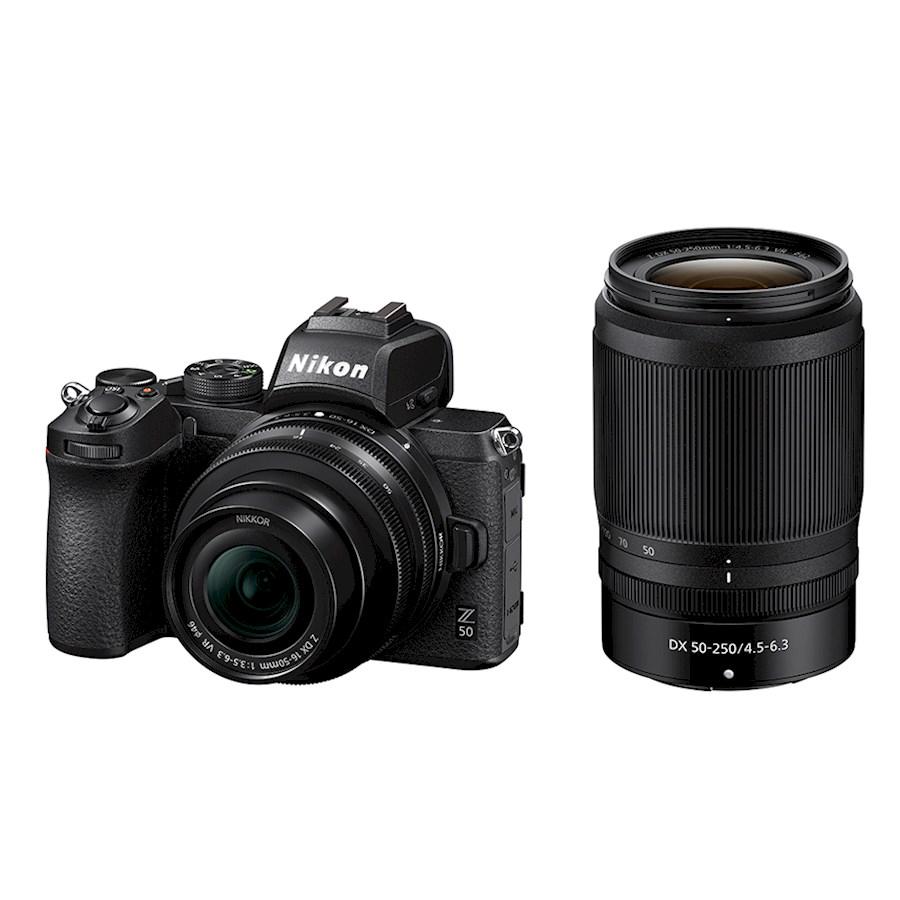 Rent a Nikon Z50 + 16-50 VR + 50-250 VR-kit + FTZ adapter in Beverwijk from Nikon