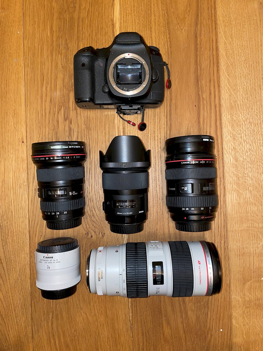 Rent a Canon 5d Mark iii DSLR Kit W/4 lenses (everything you need for a shoot) in Amsterdam from Dan