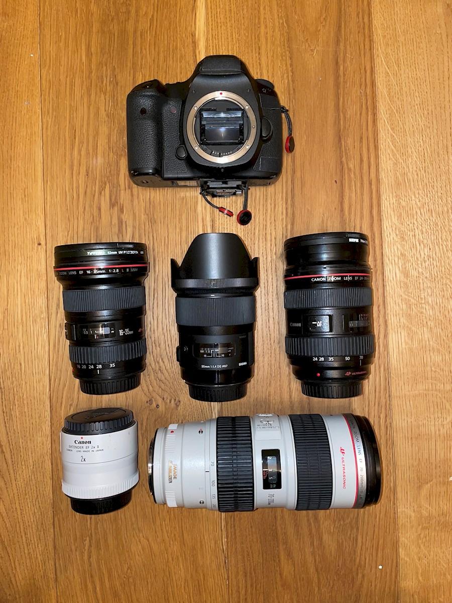 Huur Canon 5d Mark iii DSLR... van Dan