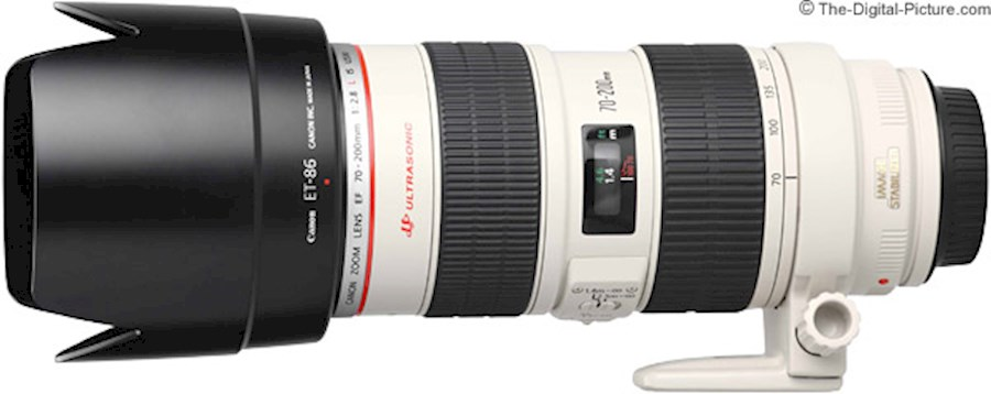 Huur Canon EF 70-200mm f2.8... van Alexandre