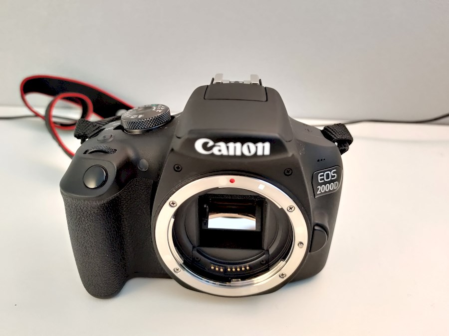 Rent a Canon EOS 2000D Body in Mol from Robbe