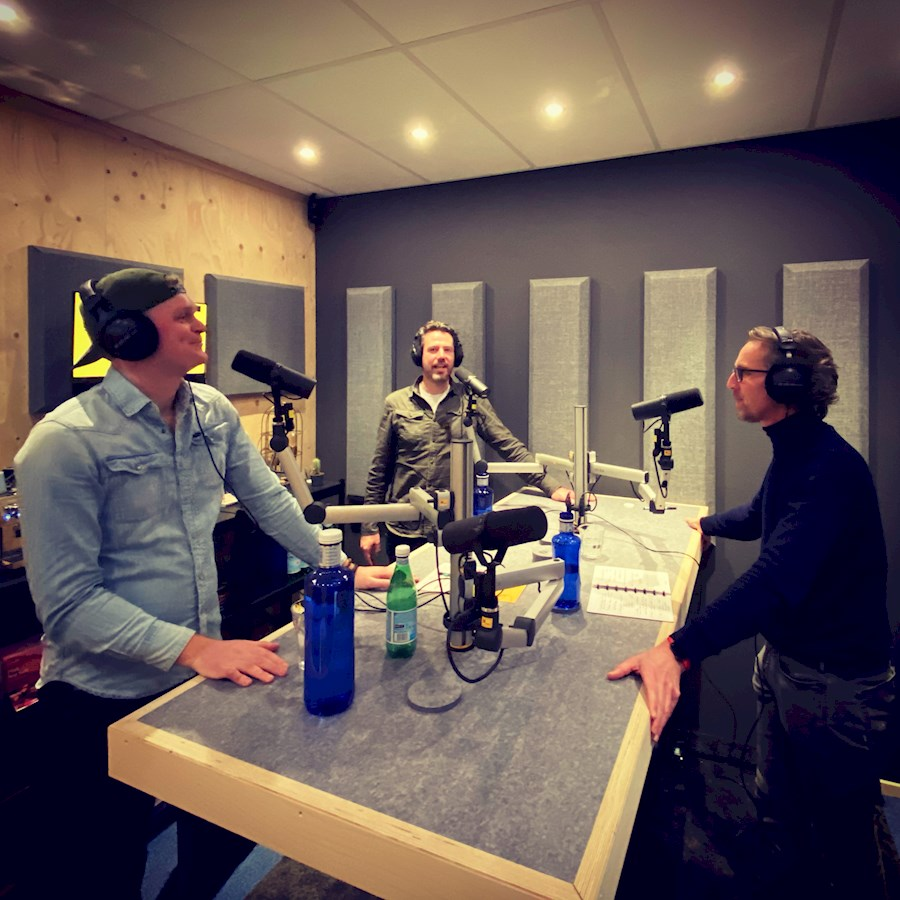 Louez podcast studio de JOEYBUDDENBERG.COM