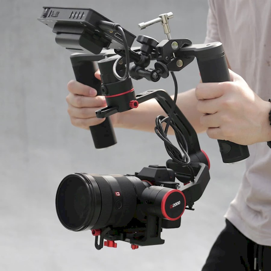 Rent a Feiyu-Tech A2000 Dual and Single Handle Gimbal in Amsterdam from M.E. Wooding