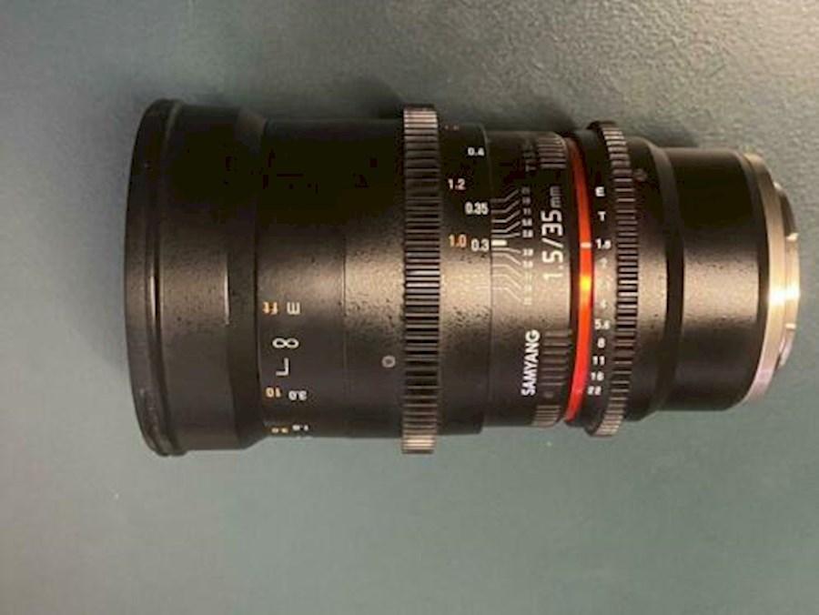 Rent Samyang 35mm T1.5 VDSL... from Kostas