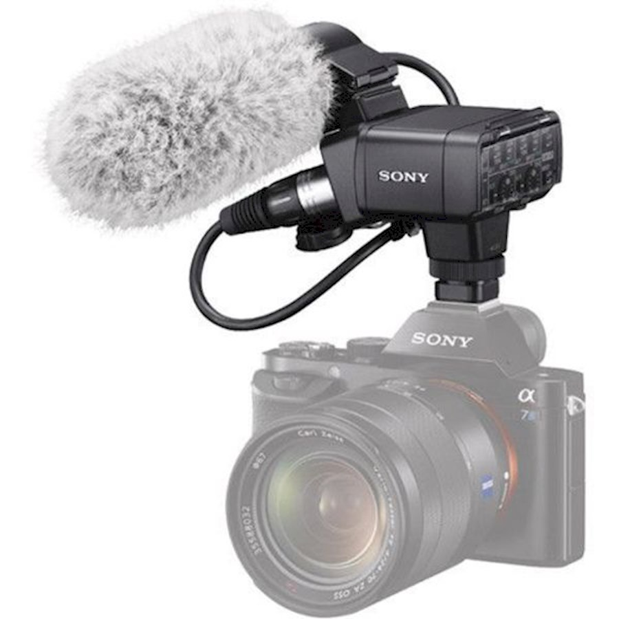 Rent a Sony XLR-K2M Adapterset en Shotgun Microfoon in Amsterdam from Pien