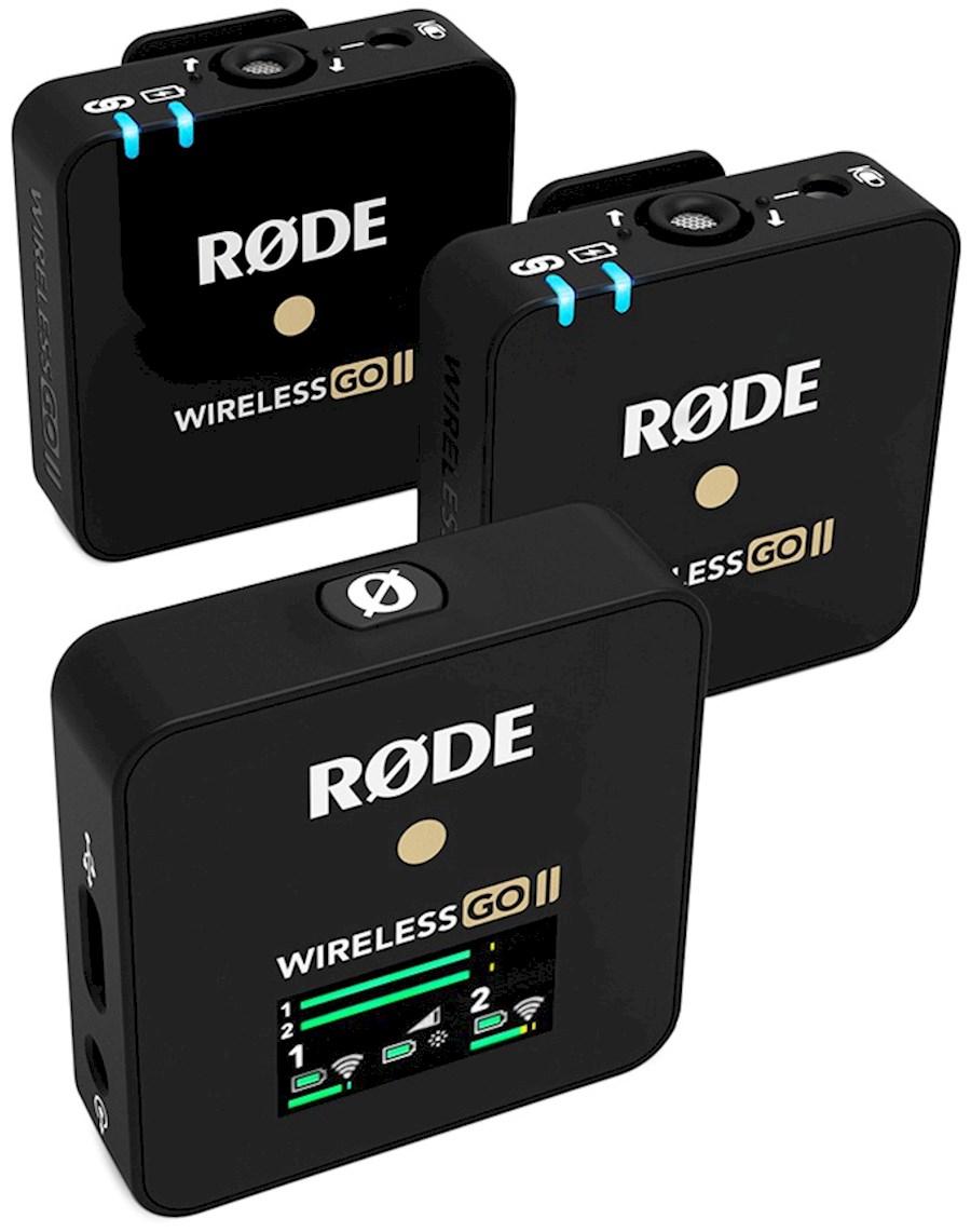 Rent RODE WIRELESS  GO II from Dirk