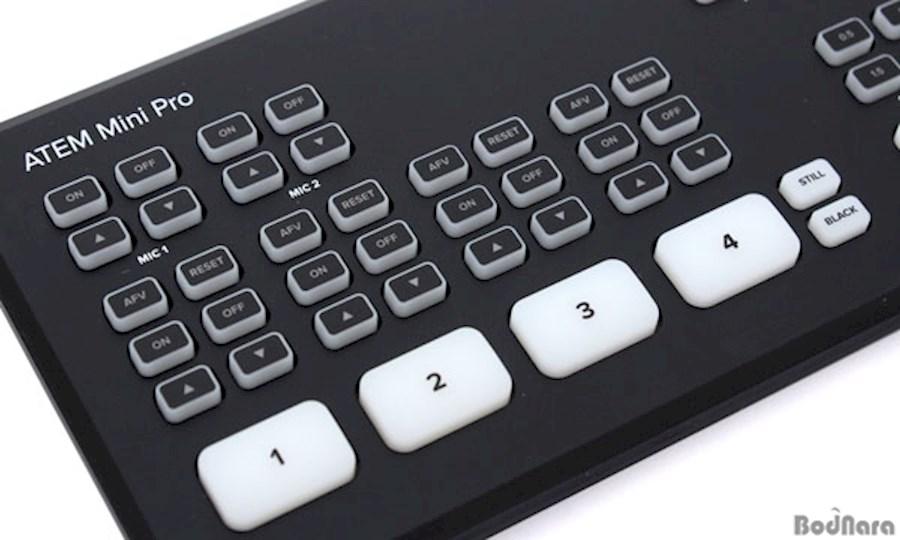 Rent a Blackmagic ATEM Mini Pro in Tilburg from KAJ MOERENHOUT VIDEOPRODUCTIES