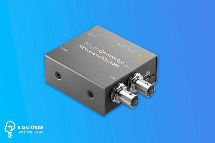 Rent a BLACKMAGIC MICRO CONVERTER BIDIRECT SDI/HDMI in Valkenswaard from BART PRINSEN