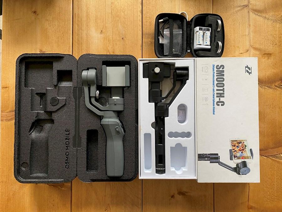 Rent 2 mobiele gimbals from Sjoerd