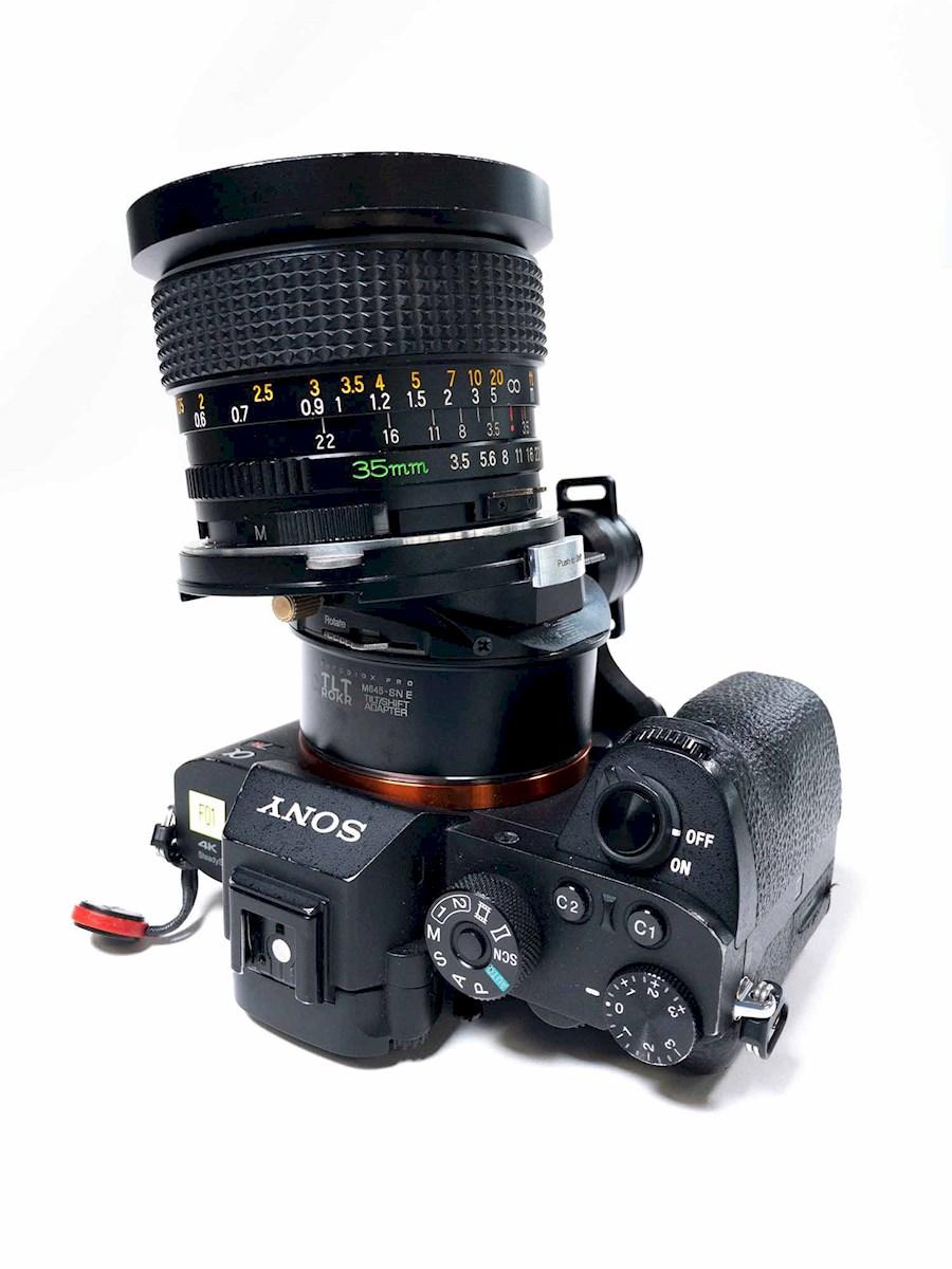 Huur Adapter M645 to Sony E... van Bram