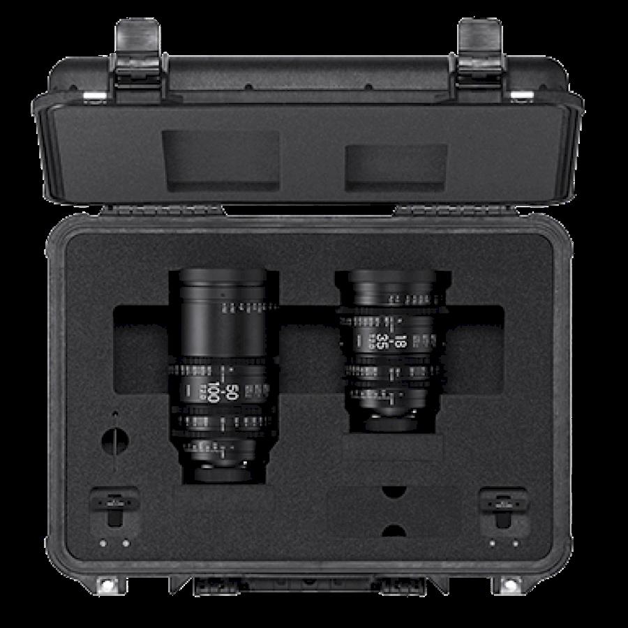 Huur een Sigma Cine 18-35 & 50-100 High Speed Zoom Lenses (PL) in Amsterdam van Daan