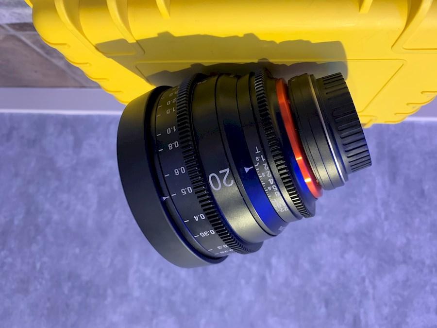 Huur een Xeen 20mm T1.9 (Canon EF) in Ermelo van EMIEL DEKKER PRODUCTIES